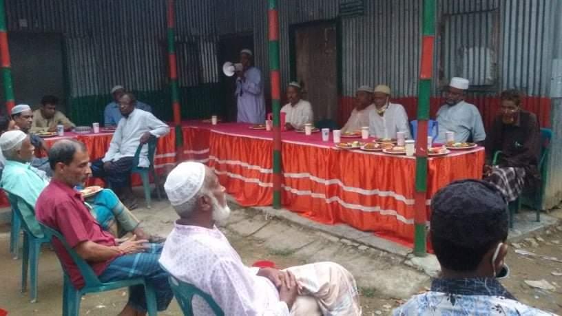 হবিগঞ্জে কৃতি ফুটবলার মরহুম আমির আলী'র স্মরণে  ইফতার ও দোয়া মাহফিল