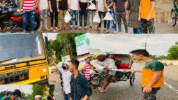 বিয়ানীবাজারে ছাত্রলীগ নেতার ব্যতিক্রমী জন্মদিন পালন
